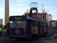 A Blackpool Tram