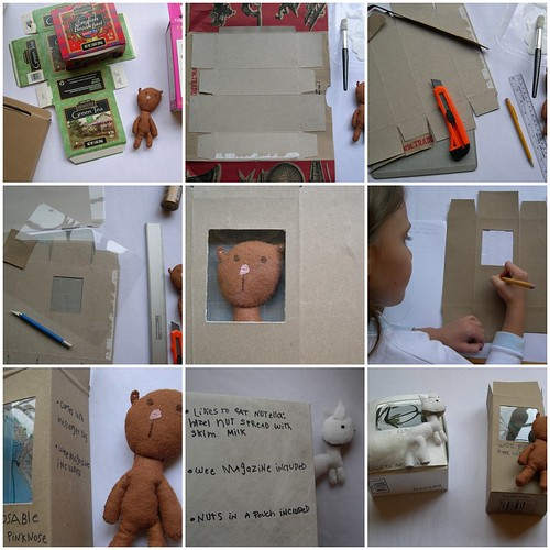 Recycled Box Packaging Tutorial