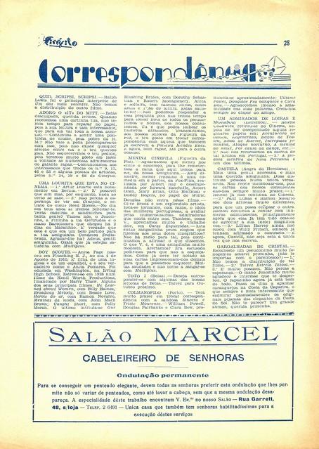 Cinéfilo, Nº 109, 1930 - 28