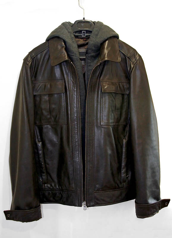Zara Combined Faux Leather Jacket in Brown for Men | Lyst
