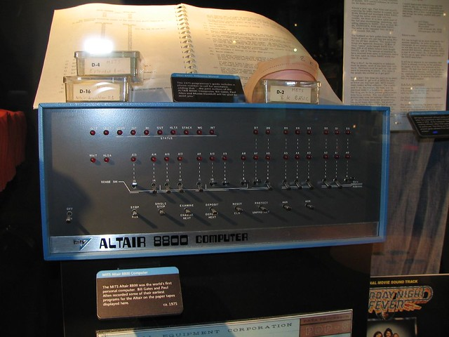 Altair 8800 Flickr Photo Sharing