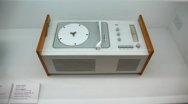 Braun record player Dieter Rams Vintage