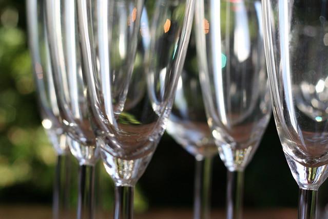 Champagne stems