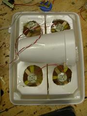 4 fan styro hovercraft