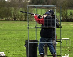 individual sports, shooting sport, shooting, clay pigeon shooting, sports, recreation, outdoor recreation, trap shooting, player,