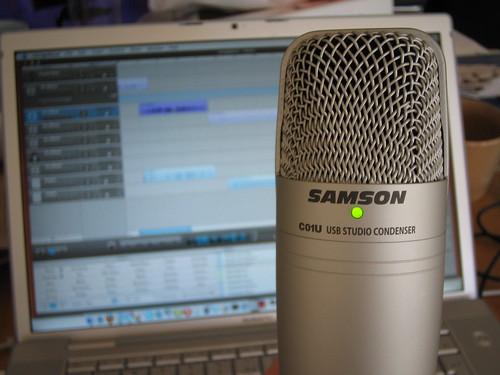 Samson USB mic
