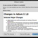 Adium 1.0 is released!