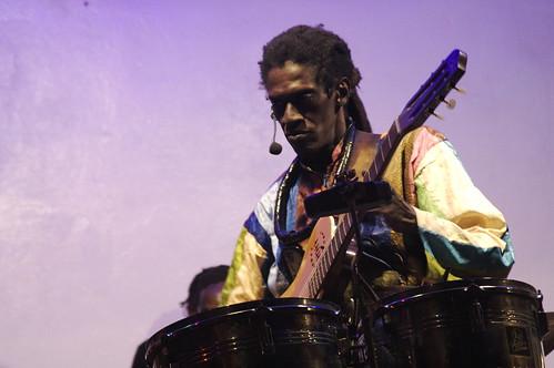 Cheikh Lo at Just 4U - Dakar, Senegal