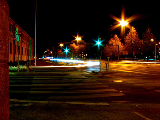 Semáforo en Helsinki