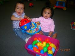 ball pit(0.0), child(1.0), play(1.0), kindergarten(1.0), toddler(1.0), toy(1.0),