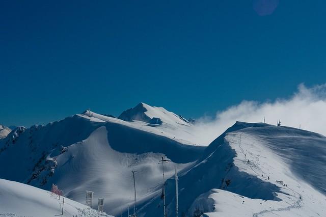 Красная Поляна – горнолыжный курорт недалеко от Сочи, где проходит трехсторонний саммит Армения-Азербайджан-Россия, автор: Andreika, источник: flick.com