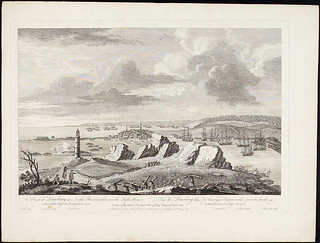 A View of Louisburg in North America / Vue de Louisbourg, en Amérique du Nord