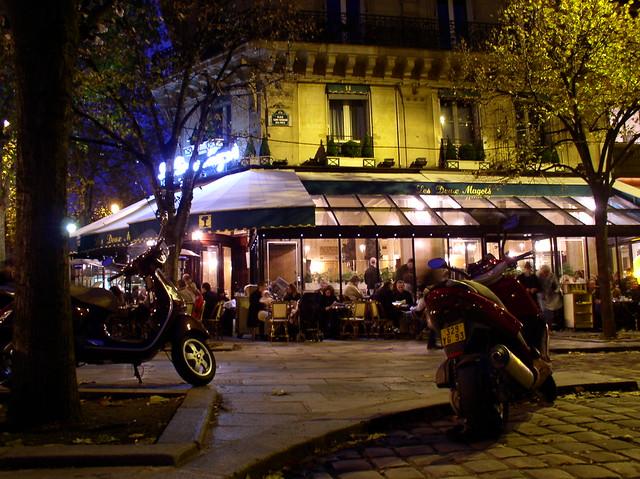 """Boulevard St-Germain - """"Les Deux Magots"""""""