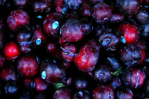 Plums in Chinatown by Old Jingleballicks
