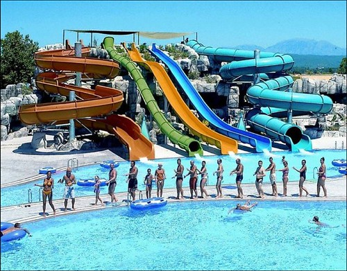 parques acuaticos - water parks by DegoZU Mac