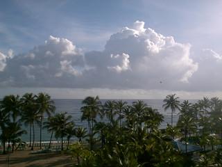 Palms, Sand, Sea, Clouds ...