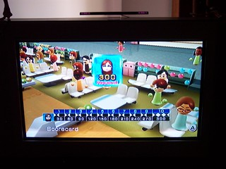 Wii Bowling Perfect Score!