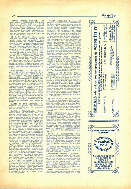 Cinéfilo, Nº 109, 1930 - 29