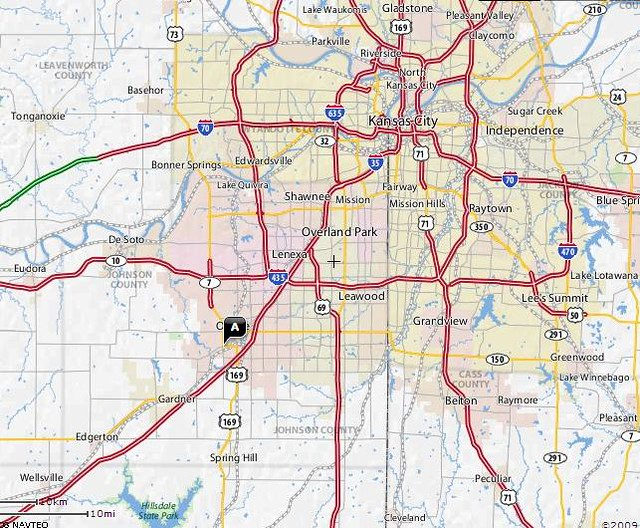 Map Kansas City Area Flickr Photo Sharing