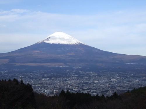 Mt.Fuji 乙女峠バス停から見た富士山