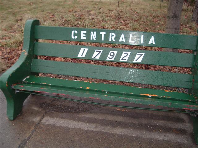 Centralia, PA: Bench with revoked zip code