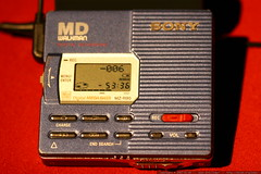 sony mz r90 minidisc recorder    MG 8862