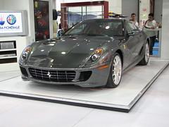 race car(0.0), ferrari 612 scaglietti(0.0), automobile(1.0), automotive exterior(1.0), ferrari 599 gtb fiorano(1.0), wheel(1.0), vehicle(1.0), performance car(1.0), automotive design(1.0), bumper(1.0), ferrari s.p.a.(1.0), land vehicle(1.0), luxury vehicle(1.0), supercar(1.0), sports car(1.0),