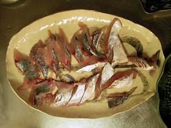 Trachurus Sashimi 鯵の刺身