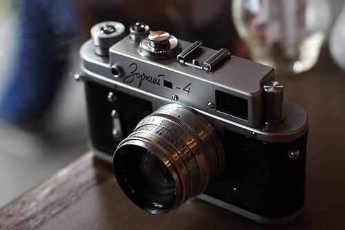 Zorki 4 + Jupiter-8 50mm f/2