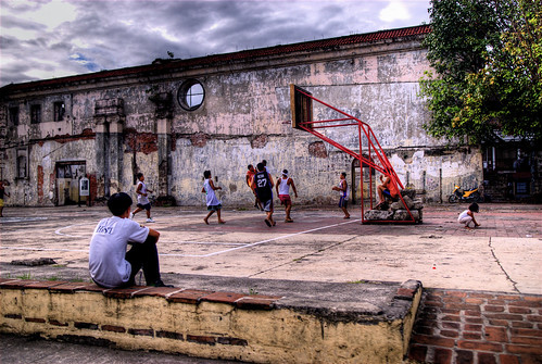 Basketball in Intramuros