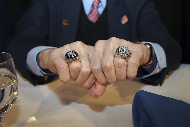 clyde king s ny yankees world series rings a photo on