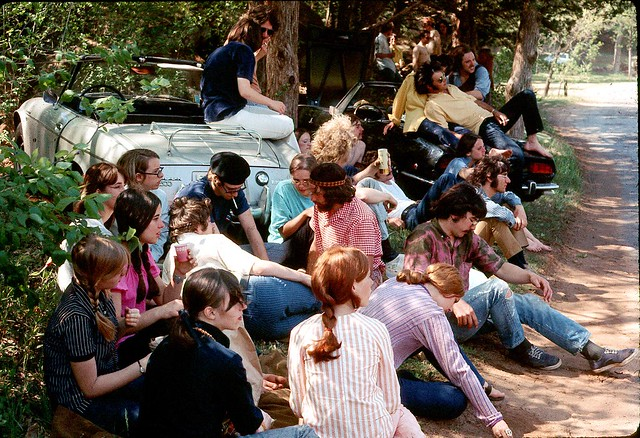 Okie Hippies 1970