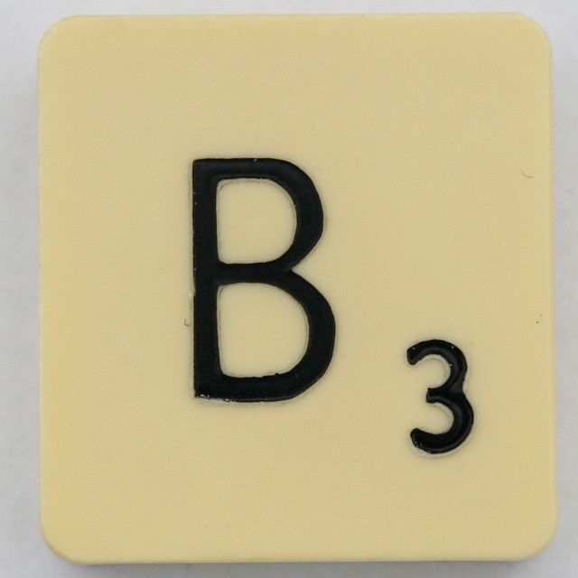 Scrabble Letter B | Flickr - Photo Sharing!
