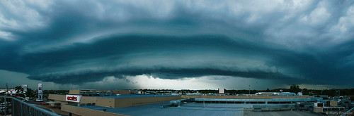 panorama storm landscape australia brisbane severeweather gustfront