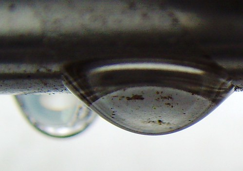 A face in a drop