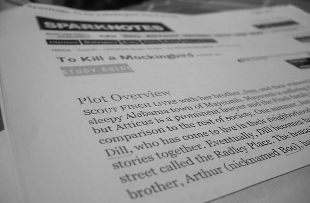 sparknotes pdf to kill a mockingbird