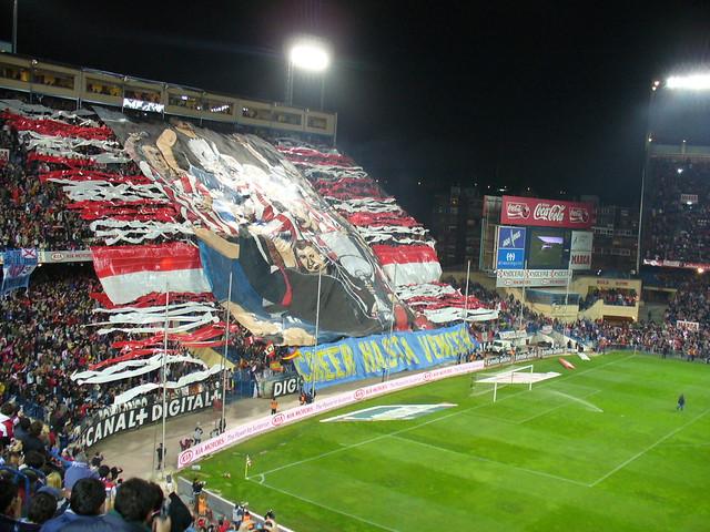 Torcida do Atlético de Madrid