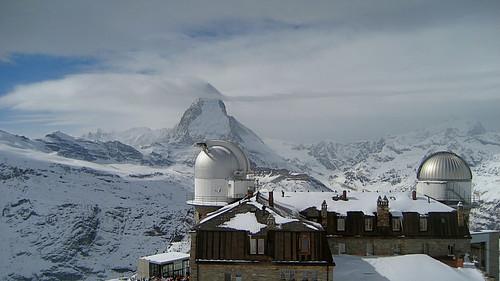 Matterhorn / Mont Cervin (VS/I - 4`478m) bei Zermatt , Kanton Wallis , Schweiz