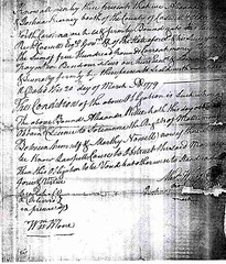 Marriage Bond of Alexander Wiley and Martha Noel