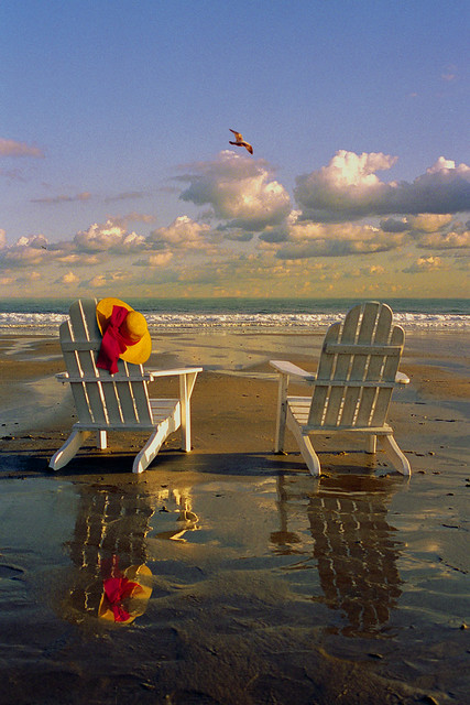 Adirondack Chairs On The Beach Flickr Photo Sharing