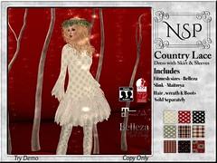 NSP Country Lace Dress - V1