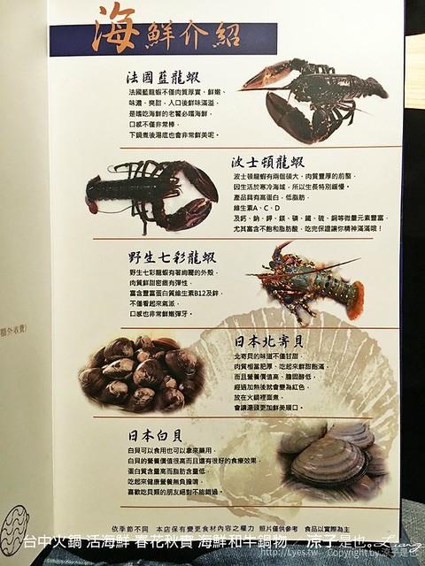 台中火鍋 活海鮮 春花秋實 海鮮和牛鍋物 9