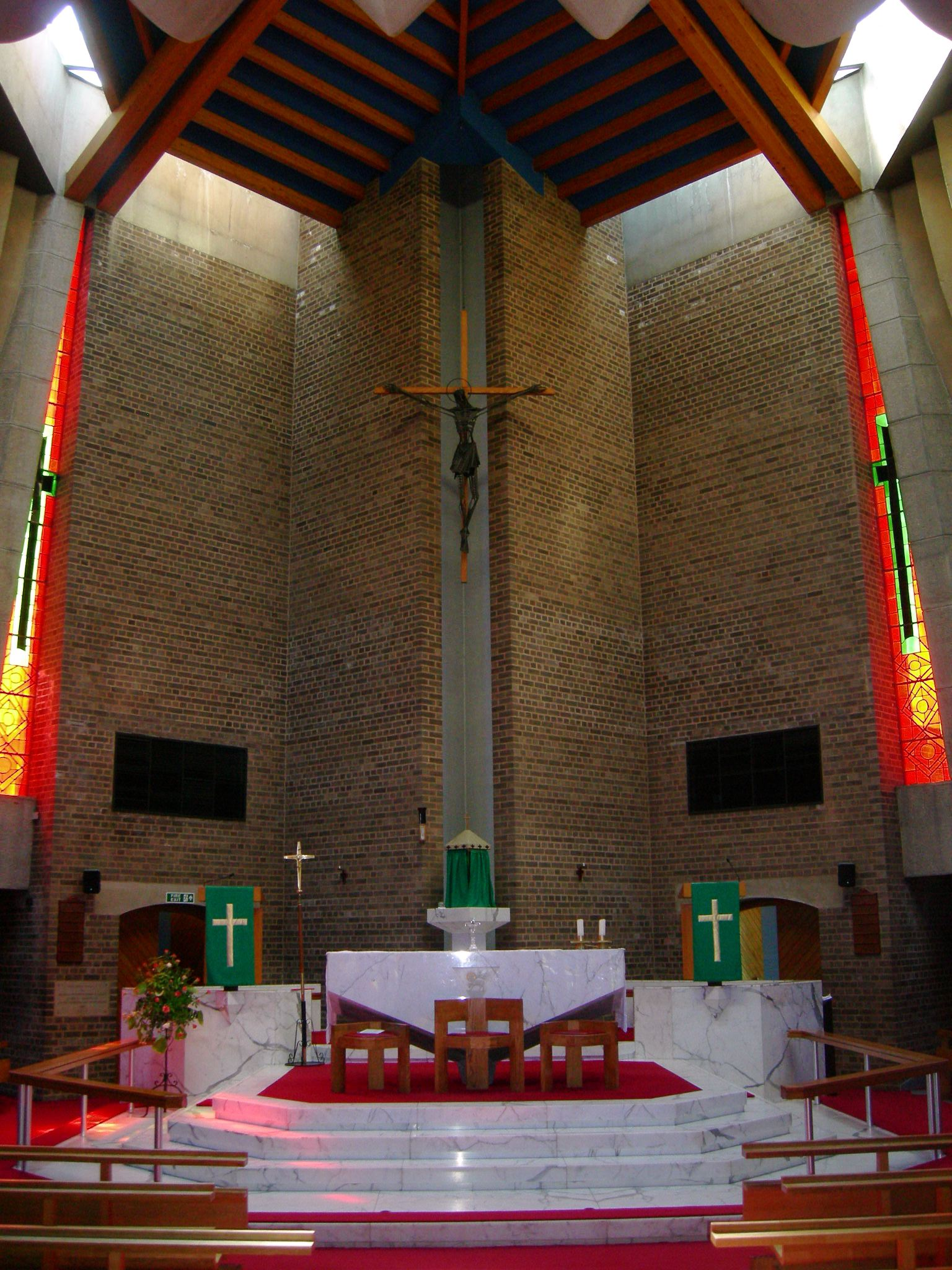 West Midlands, KITTS GREEN, Birmingham, Our Lady Help of Christians (c APEC Architects)