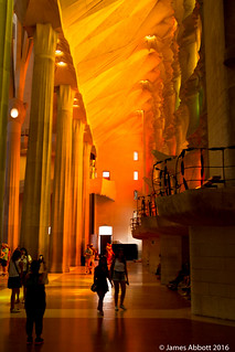 Bild av Basilica de la Sagrada Família nära Gràcia. barcelona canon70d lasagradafamilia spain catalunya es