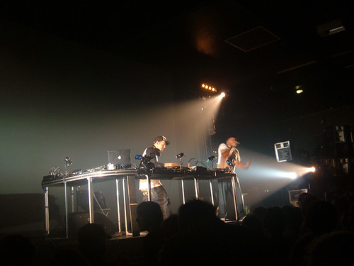 DJ Shadow aka Josh Davies performing at Manchester Academy 1 in 2006