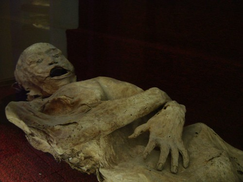 Dan's photo of one of the Guanajuato Mummies