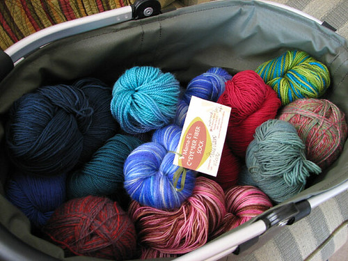 Assorted  Sock Yarns by LollyKnit