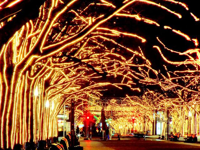 Xmas lights - Unter den Linden - Berlin - Christmas atmosphere ...