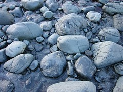 boulder(0.0), stone wall(0.0), blue(0.0), rubble(1.0), geology(1.0), pebble(1.0), stream bed(1.0), rock(1.0), gravel(1.0),