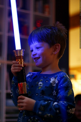 jedi nick and his new light saber    MG 7450